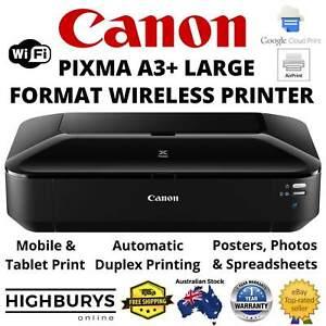 Canon PIXMA IX6860 A3+ Wireless Inkjet Wide Format Printer Auto Duplex +AirPrint