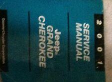 2001 JEEP GRAND CHEROKEE Service Repair Shop Manual BRAND NEW MOPAR JEEP OEM