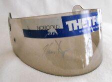 Visière Chris Dyson Thetford ALMS 2007 - signé - Helmet Visor Used signed