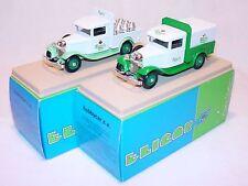 2x Eligor 1:43 FORD V8 CARLSBERG BEER TRUCK 1934 MIB`85