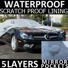 2011 MERCEDES-BENZ SL550 5LAYERS WATERPROOF CAR COVER w/MirrorP