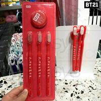 BTS BT21 Official Authentic Goods Magnet Toothbrush SET + Tracking Code