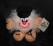 VINTAGE COLUMBIA TRANSWORLD TRADING JELLY BEANS WHITE STUFFED ANIMAL PLUSH TOY