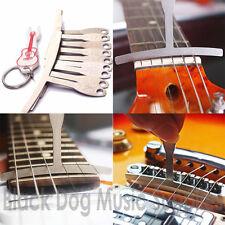 Diapasón de guitarra diapasón de radio Calibre Conjunto de 9 Puente Pin Puller Gratis