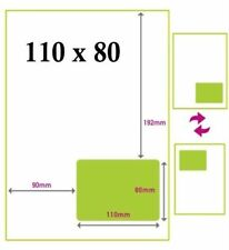 2000 - EBAY - AMAZON INTEGRATED LABELS STICKY ADDRESS LABELS - A4 - 110 x 80 mm