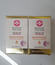 2 Manuka Doctor Facial Oil Brightening Brighten & Smooth w/ Manuka Oil