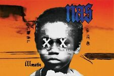 Nas 24x36 Poster Illmatic Stillmatic Belly Hip Hop Rap Ether Bravehearts Escobar