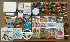 MASSIVE NINTENDO WII CONSOLE BUNDLE WITH 17 GAMES INC MARIO KART *NTSC CONSOLE*