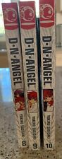 D. N Angel 3 Book Lot Yukiru Sugisaki Graphic Novel Japanese