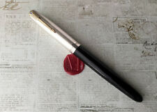 1942 Parker 51 Vacumatic Fountain Pen- Sterling Silver Cap - 2nd Year-Restored