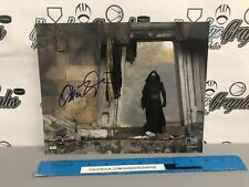 ADAM DRIVER KYLO REN SIGNED AUTOGRAPHED 8x10 PHOTOGRAPH TOPPS AUTHENTIC HOLOGRAM