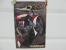 DIRTY BIRD CONCEPTS STAMPEDE SERIES INDIAN MOTORCYCLE POSTER NEW VERY RARE!!!