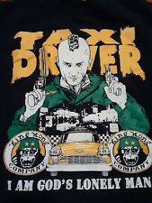 Taxi Driver T Shirt Medium Horror Movie Used