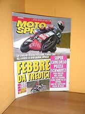 MotoSprint - n° 20 - 13/19 Maggio 1992 -Trionfa Reggiani, piange Chili- Rivista