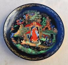 Brandex PALEKH Russian Legends DEAD PRINCESS & 7 KNIGHT Plate #2 by Alex Kovalev