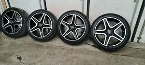 AMG Sommerräder Felgen Räder Mercedes Benz GLA W156 19Zoll  A1564010600 Schwarz