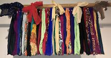 "Shabby Handmade Gypsy Boho Hippie Rag Valance Curtain Window,Wall,Door, 26""x18"""
