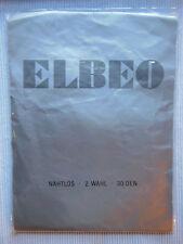 BAS ELBEO 2. choix VINTAGE NYLON Rosette Saskia gr. 10,5 30 DEN