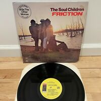 "The Soul Children Friction Vinyl LP Record 12"" STS 5507 Stax Records EX"