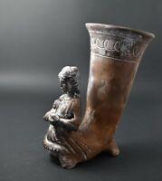 GODDESS HYGIEIA RHYTON VESSEL MASTERFULLY HANDCRAFTED REPLICA POTTERY ROMAN ART