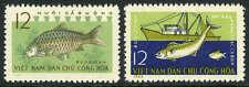 Viet Nam 255-256,Mi 262-263,Mnh.fishing Industry.trawler,D'Eau Douce