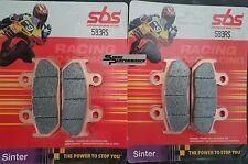 Pastillas de Freno Delantero SBS Racing Travertino pista de carreras día Pad 593RS