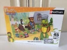 🏁 Puzzle Nathan Franklin Et Ses Amis 45 Pièces Neuf Sous Blister