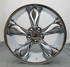 "Foose Legend 20 Chrome 20"" x 8.5"" Wheel Rim - 5x120 - F105208513"