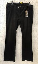 Brand New Crew Clothing Hertford Flare Slim Brown Cord Corduroy Trousers UK 18 L