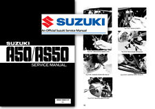 Suzuki A50 AS50 50cc Moped Workshop Service Shop Manual - Factory A 50 AS 50