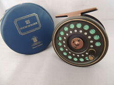 Hardy Golden Prince #7/8 FLY FISHING REEL + Makers Case & Hardy linea.