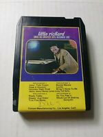 Little Richard Sings His Greatest Hits Recorded Live 8 Track Cartridge Tape