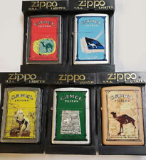 Zippo Camel Communication Series Z 614- 618 Year 2001 VERY RARE 100 Made MNT
