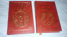 easton press universe in a single atom & the art of happiness (2 books)