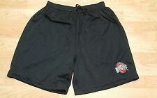 Ohio State Buckeyes Black Mesh Shorts Large Drawstring/Elastic no pockets