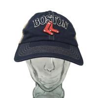 Fan Favorite Boston Red Sox Baseball Cap MLB Cotton Mesh Back OSFM Snapback Hat