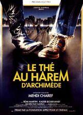 Affiche 120x160cm LE THÉ AU HAREM D'ARCHIMÈDE 1984 Mehdi Charef, Kader Boukhanef