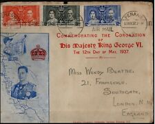 1937 Straits Settlements Malaya KGVI Coronation FDC First Day Cover