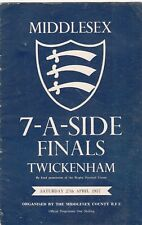 Middlesex Sevens finales 1957 @ Twickenham