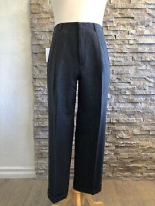 "Ralph Lauren ""Purple Label"" Light Gray Solid Wool Suit Pants -34"