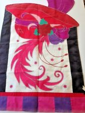 """Spring themed decorative indoor outdoor flag by Two Group Flag Company 27"""" X 40"""""""