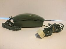 VTG Bell System Western Electric Avocado Green TRIMLINE ROTARY TELEPHONE 1974