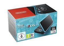 New Nintendo 2DS XL Konsole - schwarz/blau (NEU & OVP!)