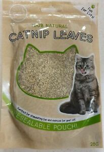 Catnip Leaves 28g Treat For Cats Cat Nip 100% Natural Extra Strong