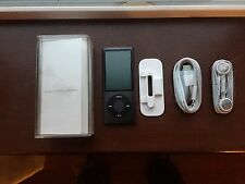 Apple iPod nano 5th Generation Black (8GB) Excellent Condition