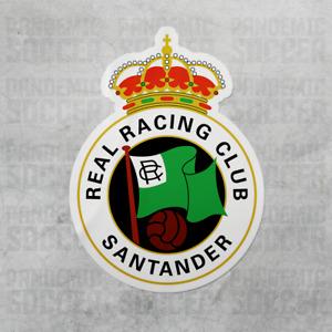 (4 Pack) Racing Santander Spain Vinyl Sticker Decal Adesivo Espana La Liga