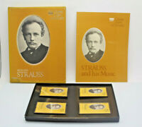 Time Life Great Men Of Music Richard Strauss 4 Cassette Tape Set Pre-Owned