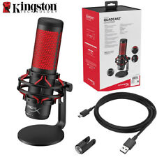 Kingston HyperX QuadCast Gaming Microfone Professional Computer Microphone Live