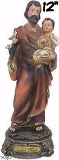 Saint St Joseph Statue (12 Inch) New