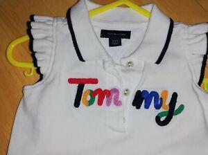 Baby Girls 3-6 mths Tommy Hilfiger White Tennis Dress